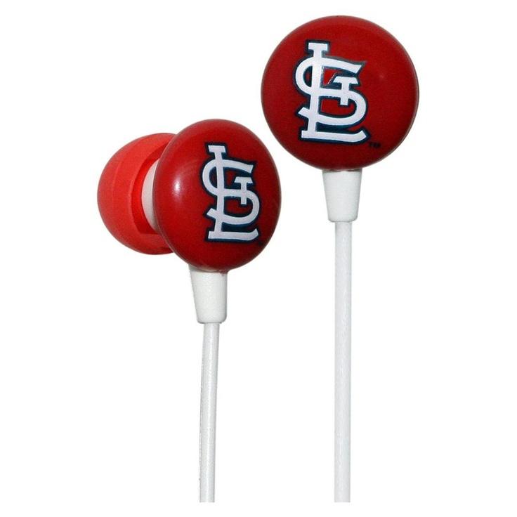 MLB Earbuds STL Cardinals (FREE SHIPPING!)
