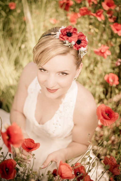 Poppy Red Wedding| Mirabelky.com