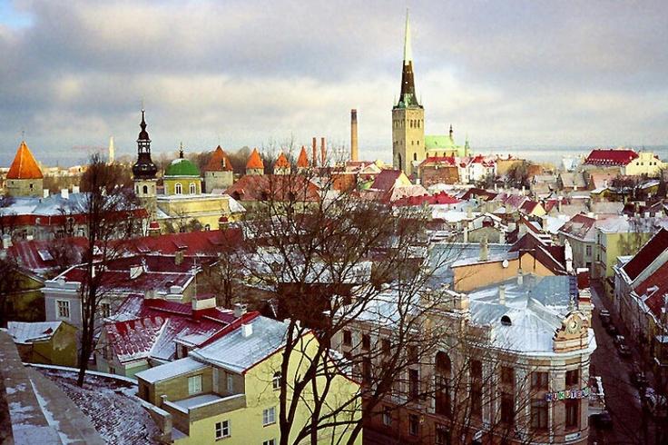Tallin. Estonia.