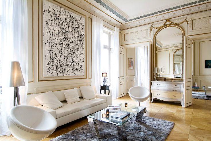 Home Inspiration Ideas - Paris luxury apartments #livingroomideas #classicfurniture #interiordesign / More at http://homeinspirationideas.net/room-inspiration-ideas/home-inspiration-ideas-12-show-stopping-luxury-paris-apartments