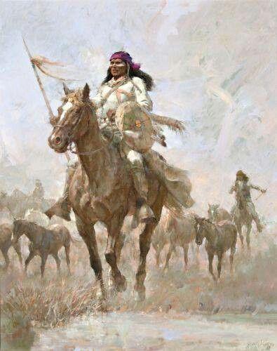 Apache warrior | Art-1st Nation | Pinterest