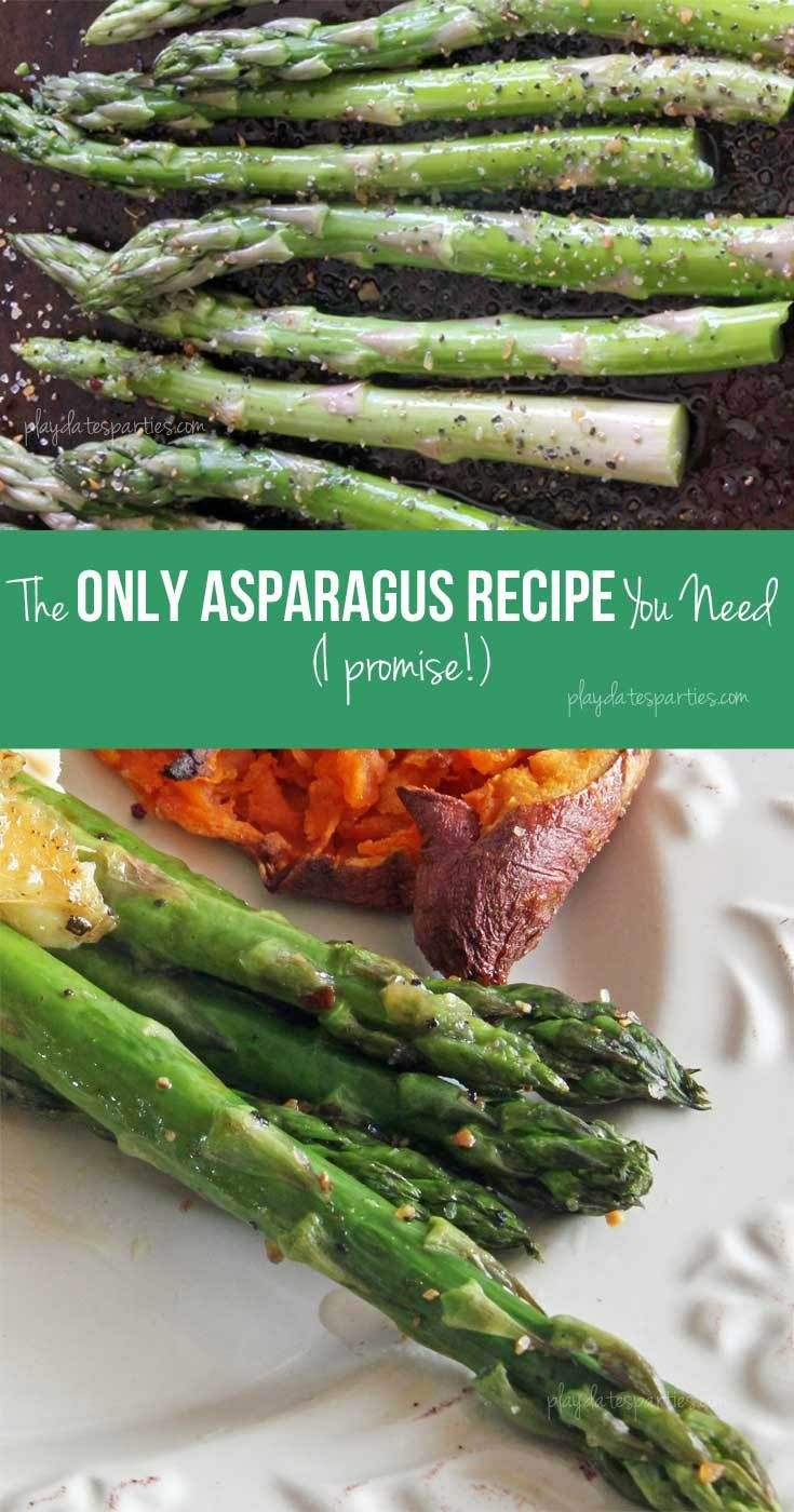 This Easy Roasted Asparagus Recipe Is About To Become A Staple In Your  House It's