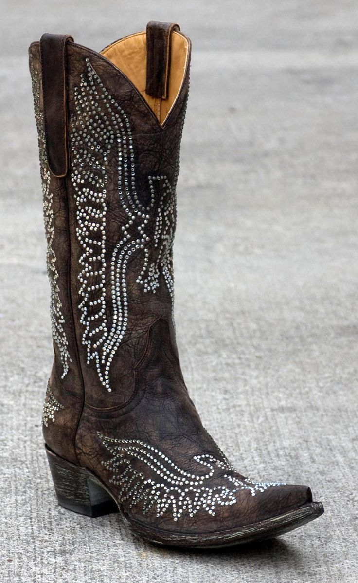 My fav!!!  Crystal Old Gringo Boots!  www.MarloMillerBoutique.com