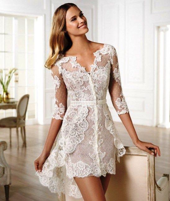 Vestidos Casamento Civil 2016: Fotos, tendências