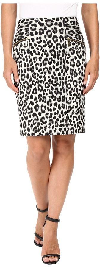 MICHAEL Michael Kors Spotted Cheetah Skirt