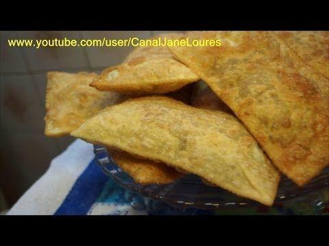 COXINHA DE FRANGO COM CATUPIRY(SEM EDITAR) - YouTube