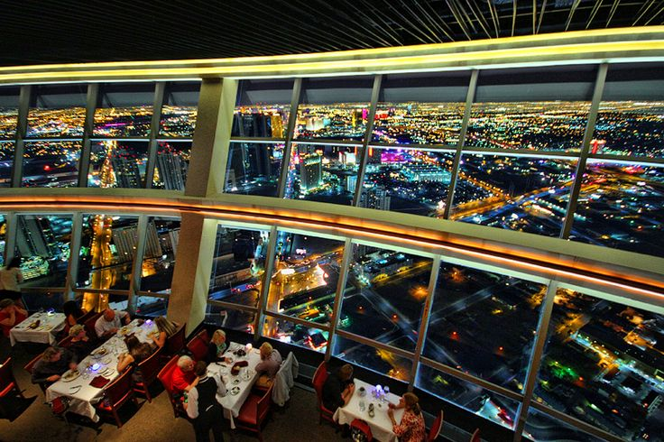 Level 107 lounge in the Stratosphere. Supposed to be the most romantic bar in vegas. We will find out next week