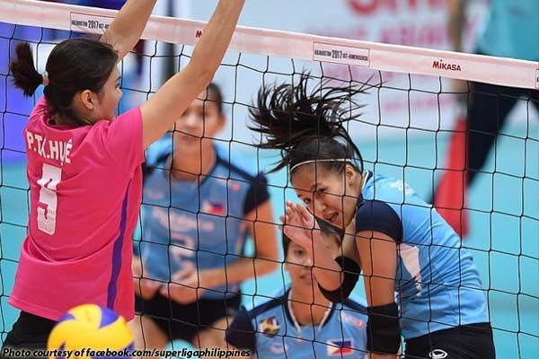 Rebisco PSL-Manila has learned a tough lesson with another loss, this time from Tianjin Bohai Bank of China, 8-25, 10-25, 9-25 Saturday in the Asian Women's Club Volleyball Championships in Ust Kamenorgorsk, Kazakhstan.