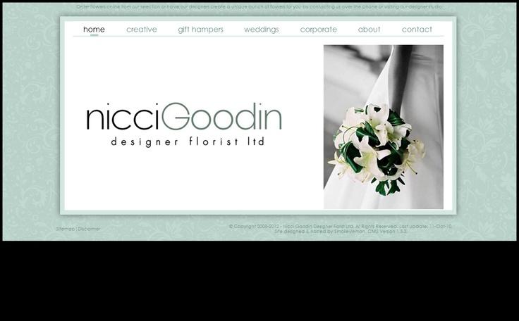 Designer Florist, Nicci Goodin