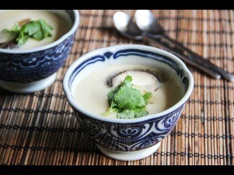 Chawanmushi (Savory Egg Custard)Recipe – Japanese Cooking 101