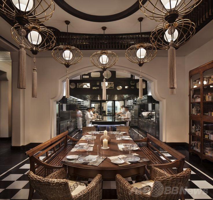ベトナム・ダナン(Da Nang)のレストラン「ラ・メゾン1888(La Maison 1888)」。(c)Relaxnews/Intercontinental Danang Sun Peninsula Resort ▼18Mar2014AFP|世界で最も美しいレストラン、人気サイトが発表 http://www.afpbb.com/articles/-/3010516 #Da_Nang #La_Maison_1888