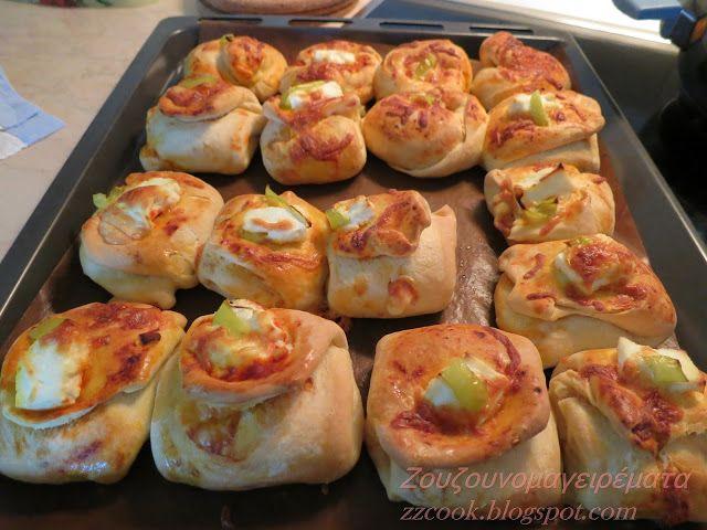 Ζουζουνομαγειρέματα: Πίτσα σε φακελάκι!!!