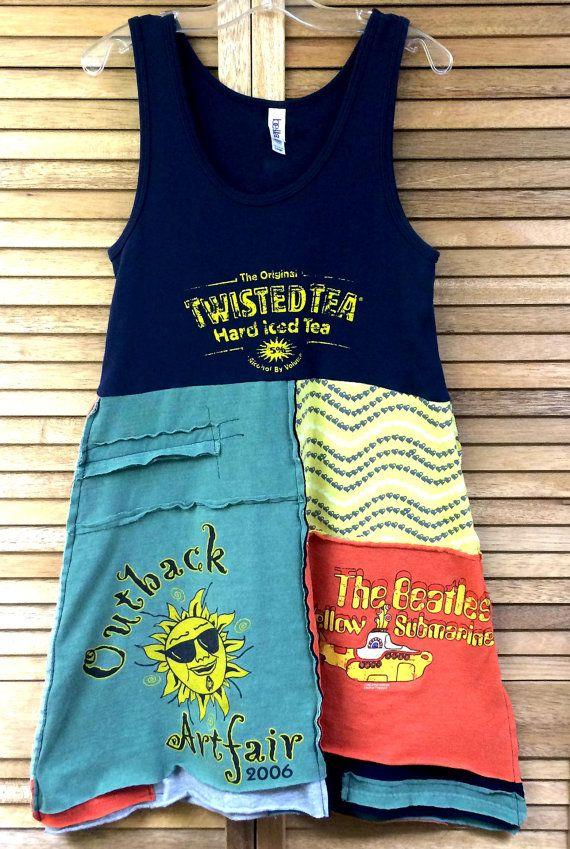 Upcycled Tunic/Dress, Size Jr. Large