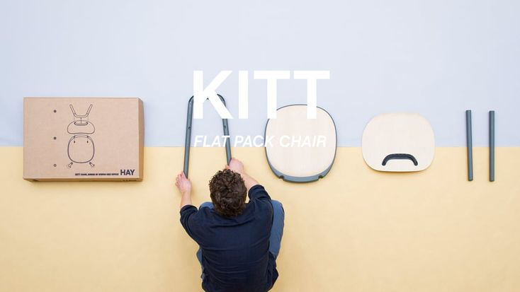 KITT - Flat pack chair for HAY  video ©2014 by SDO/ Jonathan Mauloubier