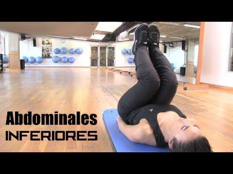 """Ejercicios abdominales inferiores """"Sacar abdominales"""" - YouTube"""