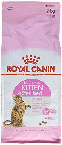 Aus der Kategorie Royal Canin  gibt es, zum Preis von EUR 14,99  Spezielles trockenfutter für kastrierte katzen im wachstum bis zum 12. Monat