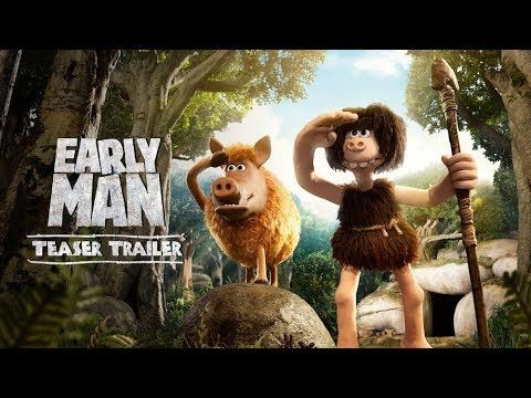 """The Age of Stone is over... Long live the Age of Bronze!"" Watch the NEW teaser trailer for Early Man & see it in theaters February!"