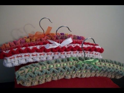 17 Best images about Clothes Hanger Covers on Pinterest Free pattern, The h...