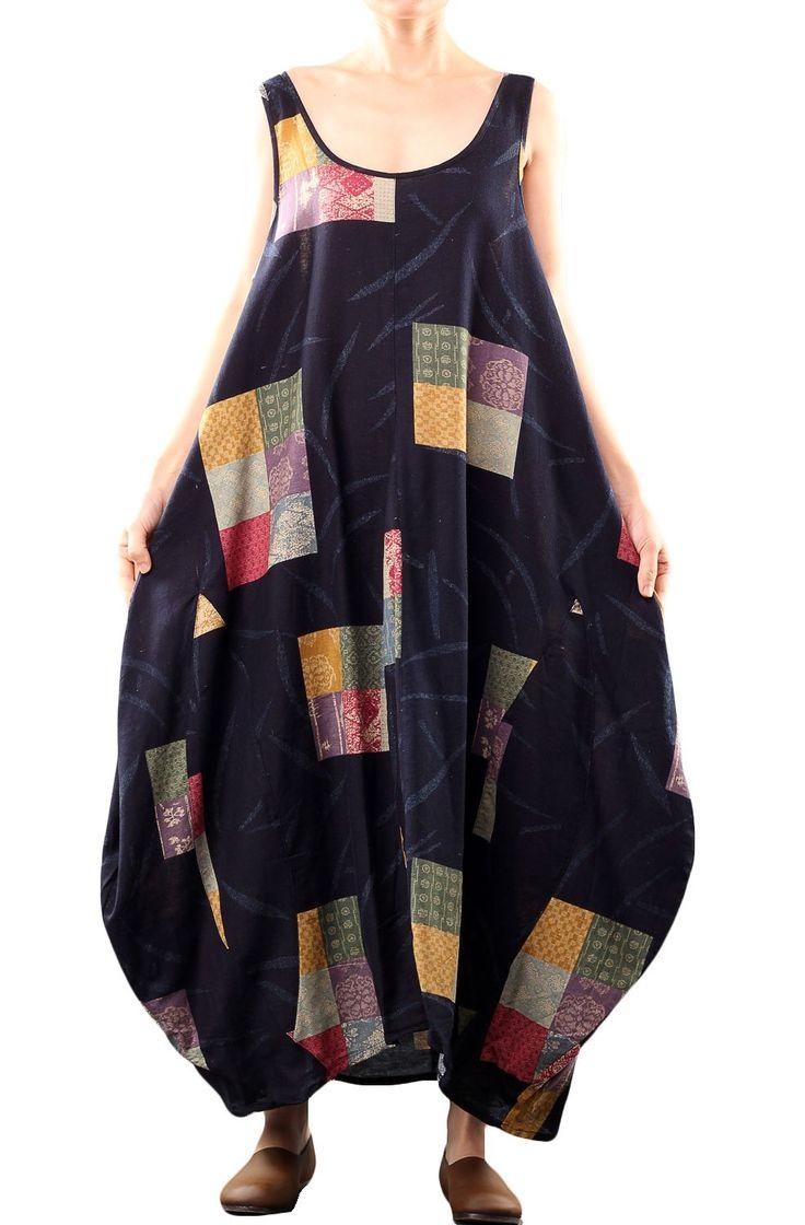 mordenmiss women 39 s vest maxi dress navy blue at amazon. Black Bedroom Furniture Sets. Home Design Ideas