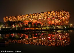The Beijing National Stadium, also known as the bird's nest will be the main track and field stadium for the 2008 Summer Olympics and will be host to the Opening and Closing ceremonies.