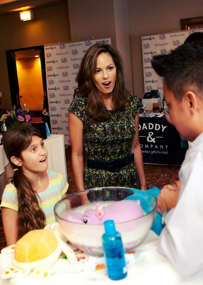 Terri Ivens and her daughter learn about SoapSox! — at Hollywood Roosevelt - a Thompson Hotel. #SoapSox