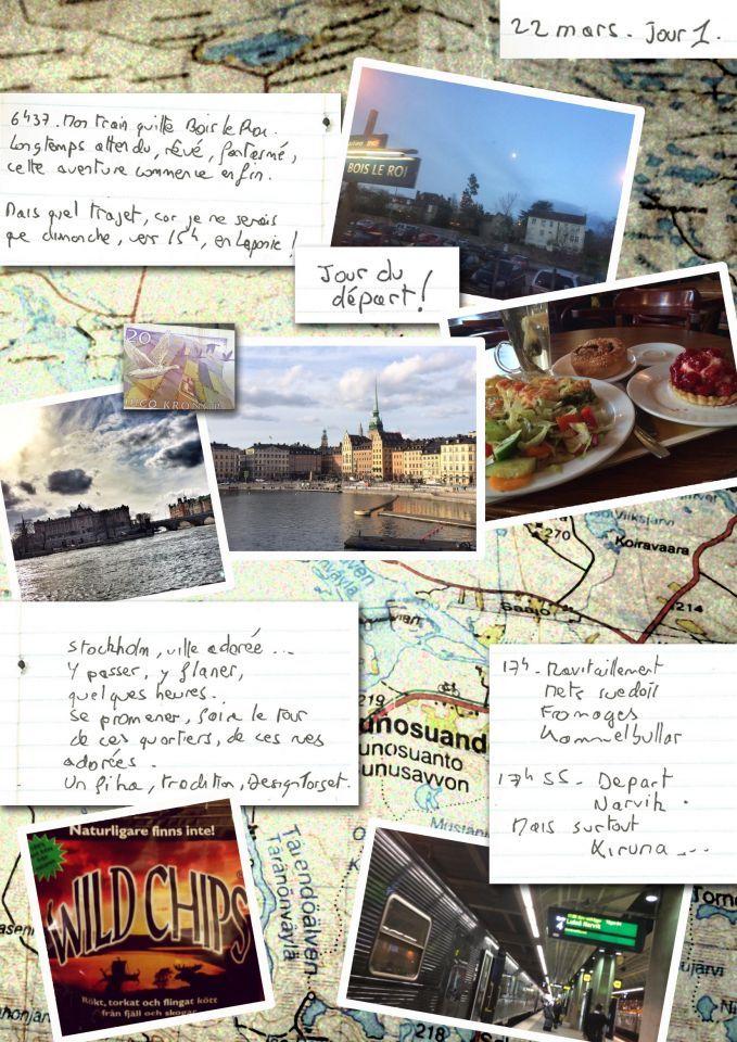 Carnet de voyage en Laponie