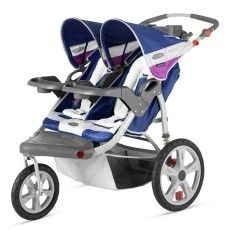 #Double stroller jogger - why not take your children going for walks?