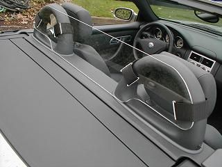Mercedes SLK 320 Windscreen, Windblocker, Wind Deflector by Windblox. http://www.windblox.com
