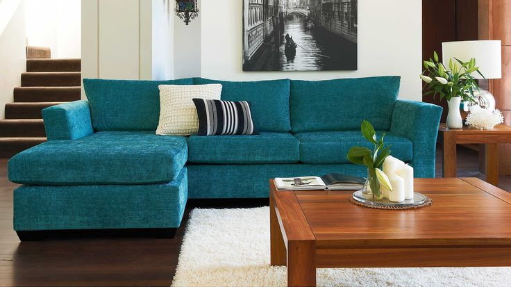 Rubicon 2 Seat Sofa Bed plus Chaise Harvey Norman