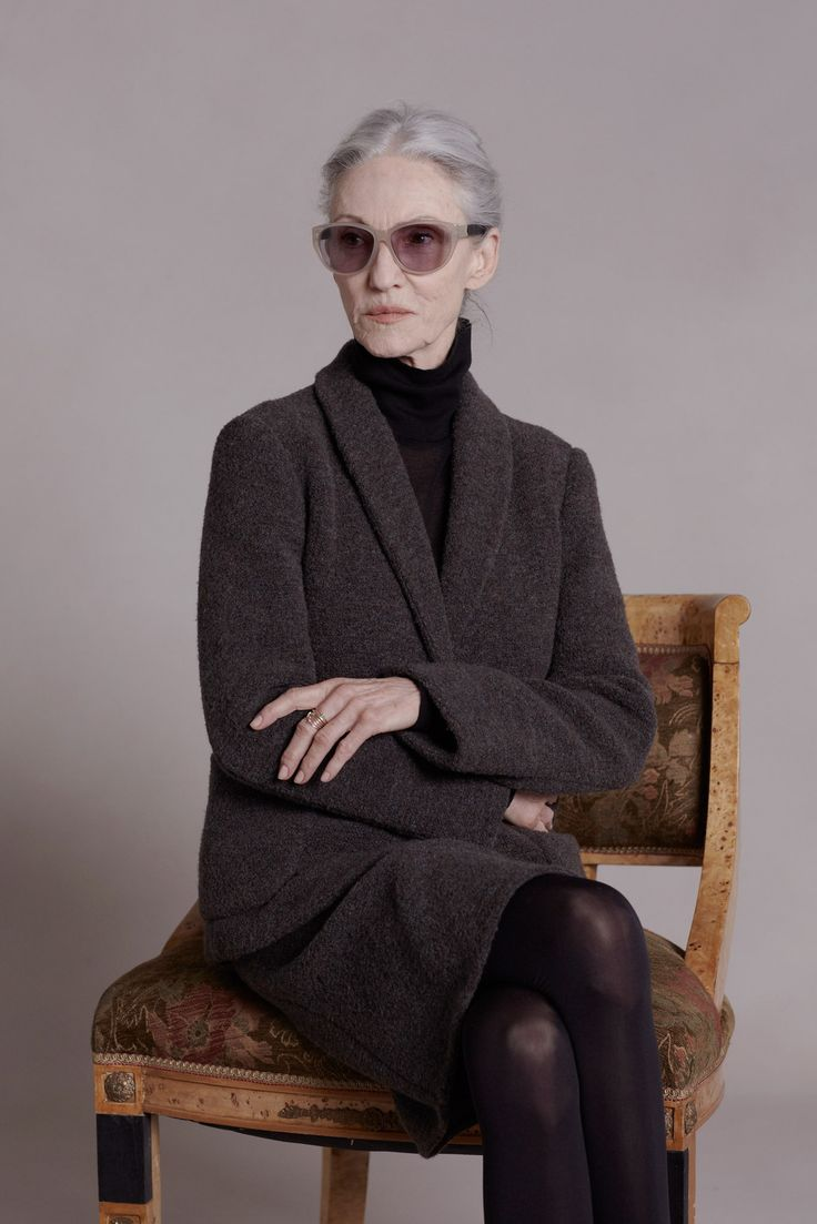 how brilliant of ashley and mary kate olsen to acknowledge and address their clientele by shooting the row pre fall 2014 collection with mature models