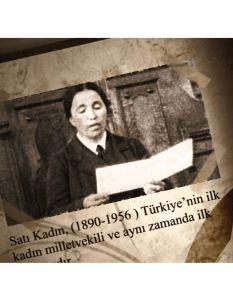 MECLİSTE BİR KADIN (1935): HATI (SATI) ÇIRPAN