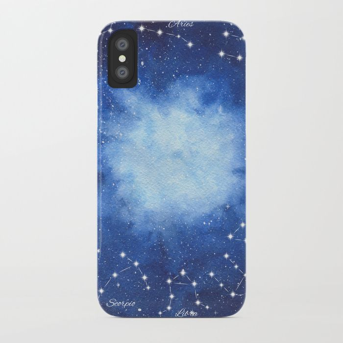 Cosmic Horoscope iPhone Case #space #zodiac #signs #horoscope #universe #galaxy #nebula #stars #constellations #watercolor #painting #night #buy #buyonline #shopping #giftidea #present #cosmic #cosmos #society6 #phonecase #accessories #cases #buycase #iphone