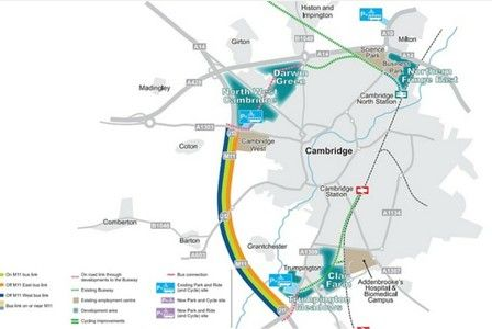 The world's first dedicated 'park and cycle' site could be included in a multi-million pound package aimed at boosting bus travel and cycling in the west of Cambridge. 	     	The City Deal's...