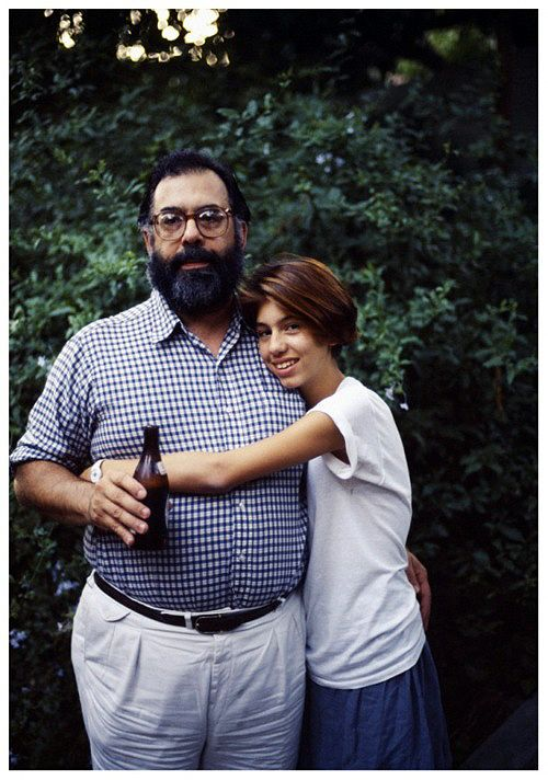 "Francis & Sofia Coppola. ""Anyone who's made film and knows about the cinema has a lifelong love affair with the experience. You never stop learning about film."" #Realbighits"