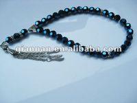 wholesale magnetic crystal rosary bead glass Islamic muslim tasbih prayer beads