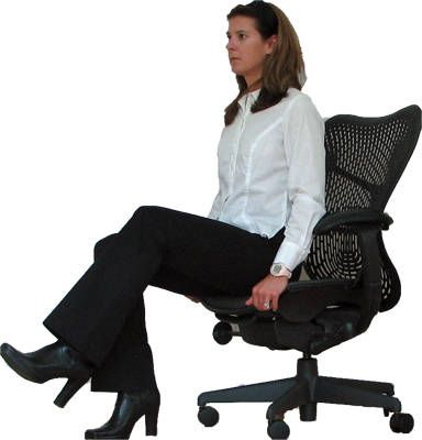 Office Chair Exercises - Break a sweat while staring at the computer screen