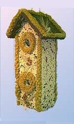 2-Story Birdhouse/Feeder BHC