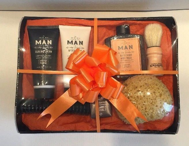 Fathers Day Birthday Gift Basket Hamper For Him Mens Idea Dad Son Husband Sueshamperz