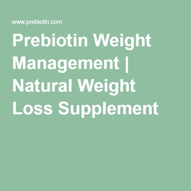 Prebiotin Weight Management | Natural Weight Loss Supplement