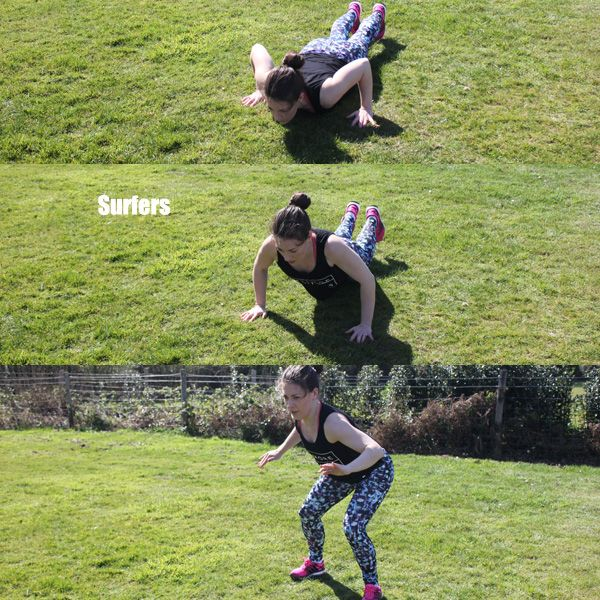 Plyometric Workout Challenge: 38 Best Fitness Images On Pinterest