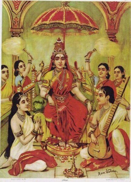 painting by raja Ravivarma