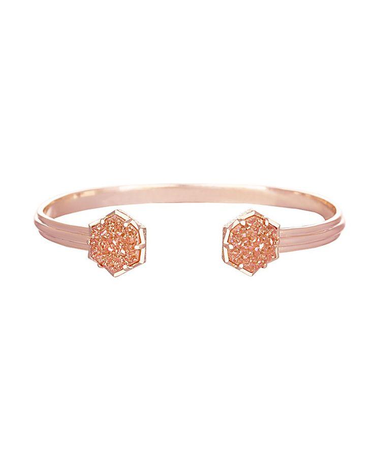 Arden Bracelet in Champagne Drusy - Kendra Scott Jewelry
