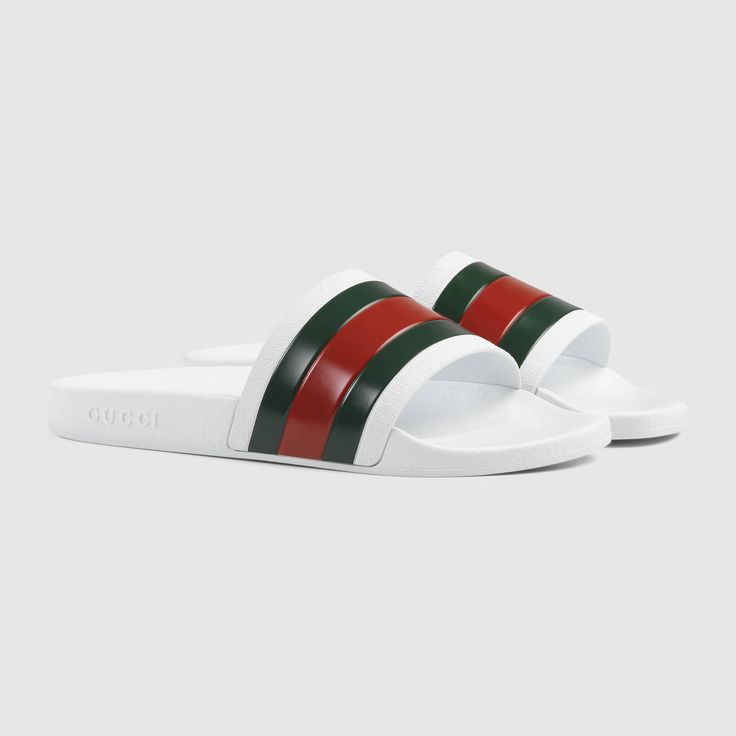 Gucci Men - Rubber slide sandal - $160