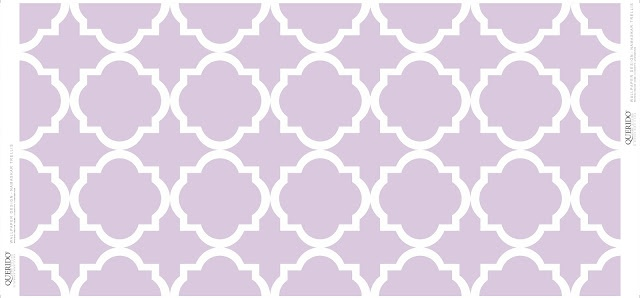 Trellis Wallpaper Collection By Querido Homestyling Store - Lavender fog