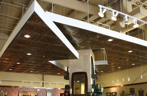 Mirroflex Lamiantes installed on ceiling