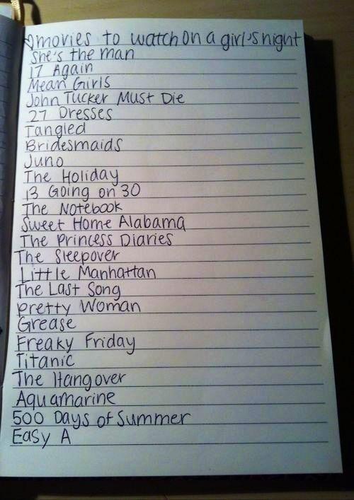 films de filles:)
