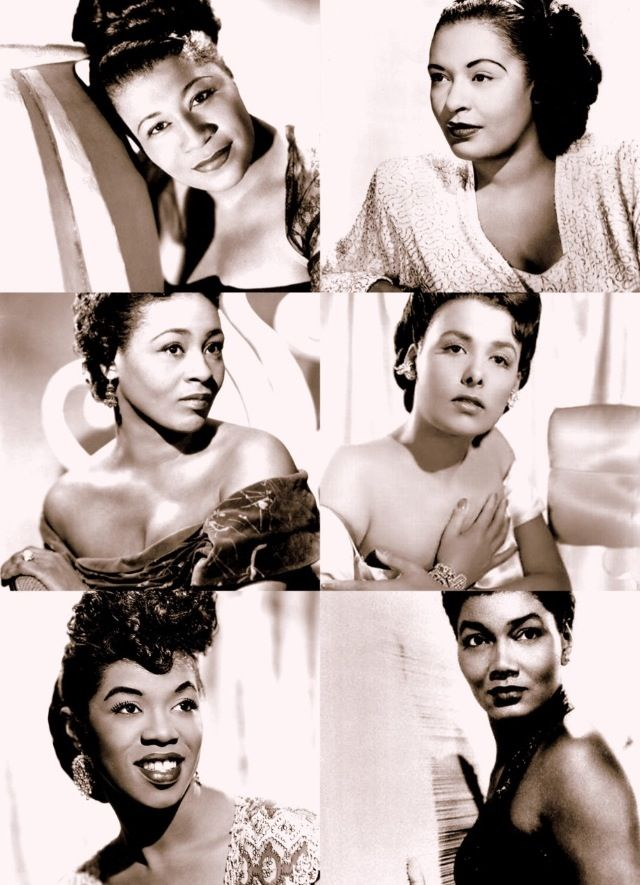 Beautiful African American women