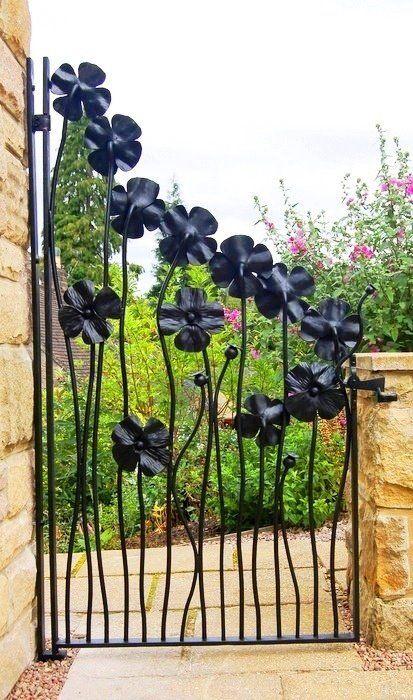 what a pretty gate