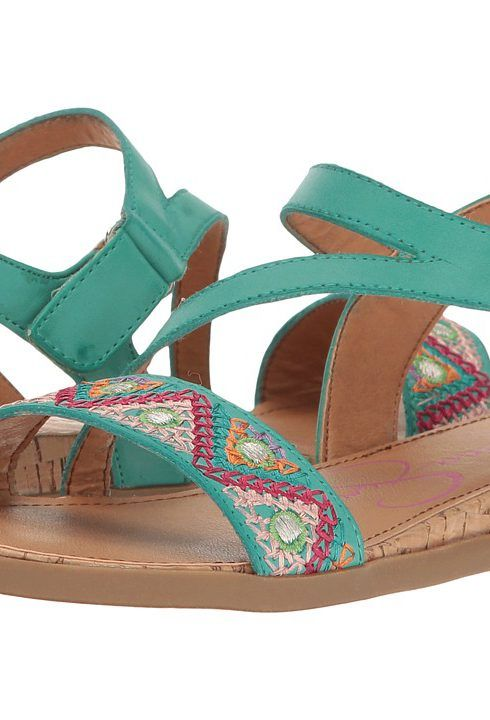 Jessica Simpson Kids Jurnee (Little Kid/Big Kid) (Turquoise) Girl's Shoes - Jessica Simpson Kids, Jurnee (Little Kid/Big Kid), JS2176-350, Footwear Open General, Open Footwear, Open Footwear, Footwear, Shoes, Gift, - Fashion Ideas To Inspire