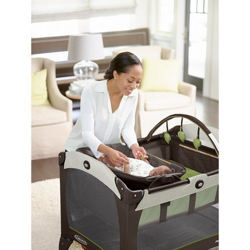 Pack N Play Yard Playpen Changing Table Nap Pad Portable Reversible Travel #Graco